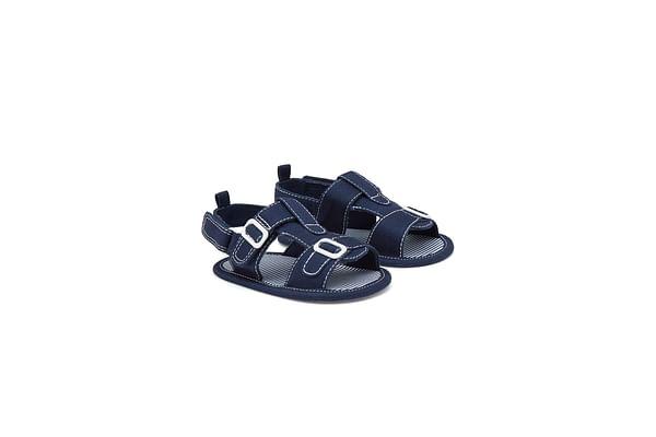 Boys Smart Buckle Sandals - Navy