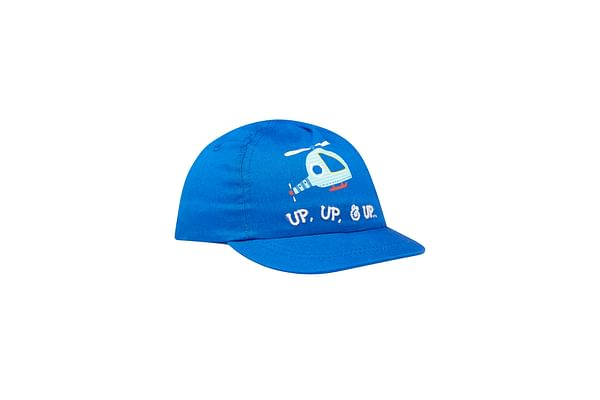 Boys Helicopter Cap - Blue