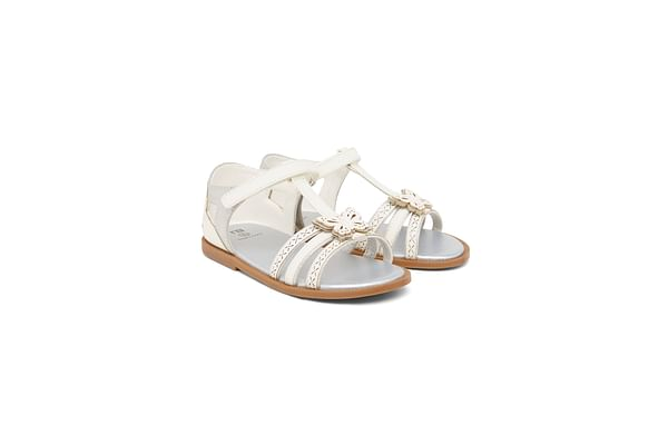 Girls  Butterfly Sandals - White