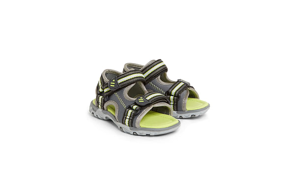 Boys Trekker Sandals - Grey