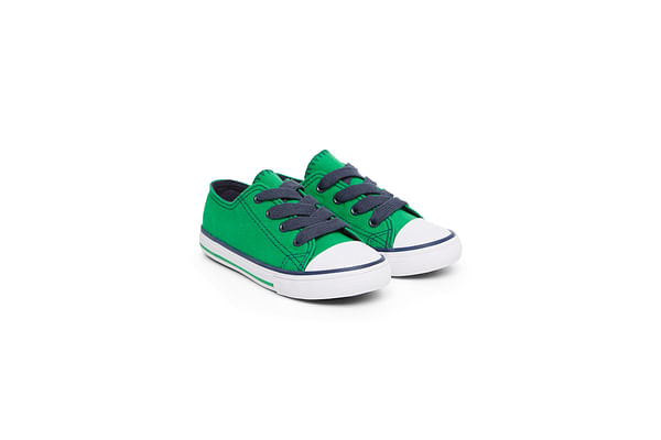 Boys Canvas Shoes - Green