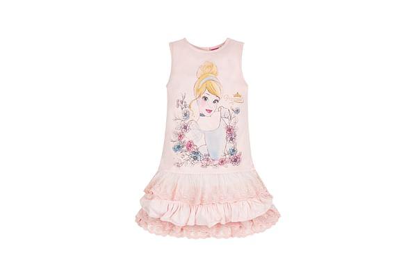Girls Disney Cinderella Dress - Pink