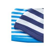Boys Stripy Hats - Pack Of 2 - Blue