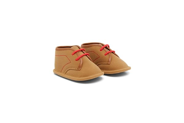 Boys Lace Up Boots - Brown