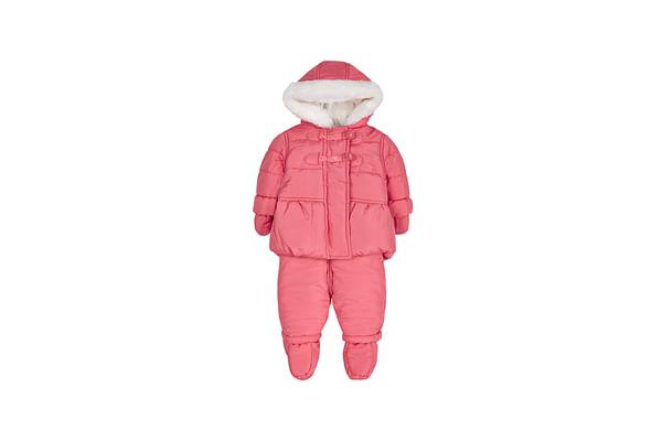 Girls Jacket And Legging Set  - Pink