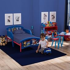 Delta Children Paw Patrol Plastic And Metal Toddler Bed