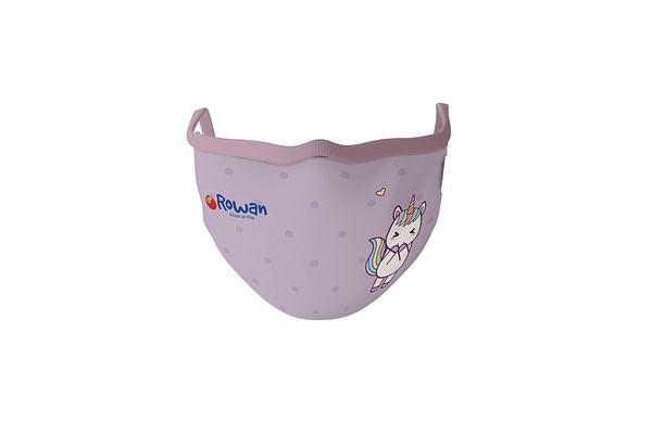 Unisex Unicorn Face Mask-Purple