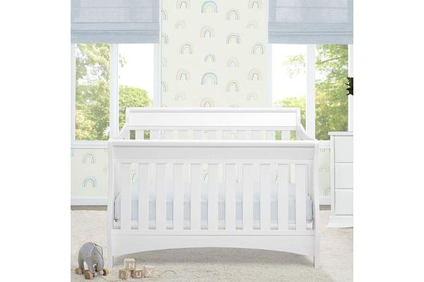 Delta Children Bentley 'S' 4in1 Crib White