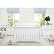 Delta Children Bentley 'S' 4in1 Crib White