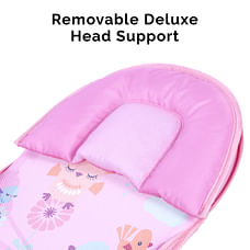 R For Rabbit Fun Time Baby Bather Pink