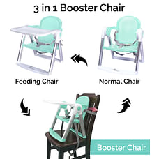 R For Rabbit Jelly Bean Booster Chair Green