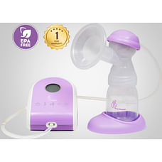 R For Rabbit First Feed Delight Electric Breast Pump Purple