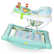 R For Rabbit Rock N Walk Baby Walker & Jumpers Blue