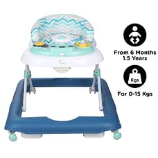 R For Rabbit Step Up Baby Walker & Jumpers Blue