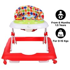 R For Rabbit Step Up Baby Walker & Jumpers Red