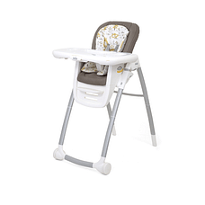 Joie Multiply 6In1 High Chair Cosy Spaces White & Grey