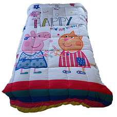 Wiggle wink Peppa Pig Be Happy  Toddler comforter