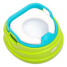 R For Rabbit Ding Dong Baby Potty Seat & Chair Green Blue