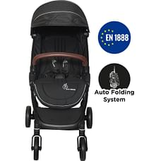 R For Rabbit Street Smart Baby Strollers Black
