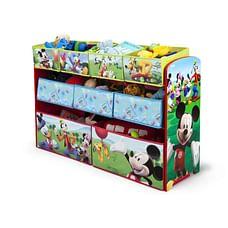Delta Children Mickey Mouse Deluxe Bin Organizer Multi