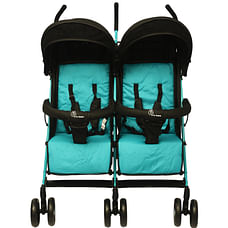 R For Rabbit Ginny And Johnny Twin Strollers & Prams Black