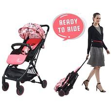R For Rabbit Pocket Lite Baby Strollers Pink