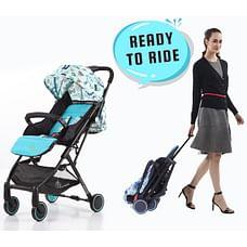 R For Rabbit Pocket Lite Baby Strollers Blue