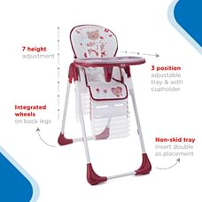 Nuluv Baby High Chair Jam