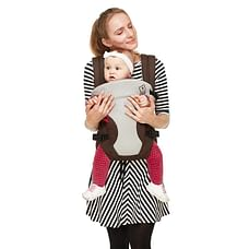 R For Rabbit New Cuddle Snuggle Baby Carriers Brown Grey
