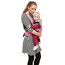 R For Rabbit New Cuddle Snuggle Baby Carriers Pink Grey