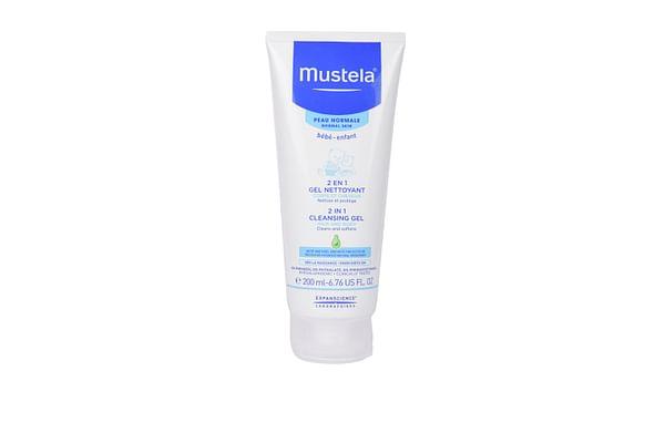 Mustela 2 In 1 Cleansing Gel 200ml White
