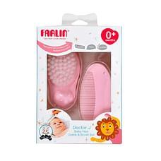 Farlin Comb & Brush Grooming Set