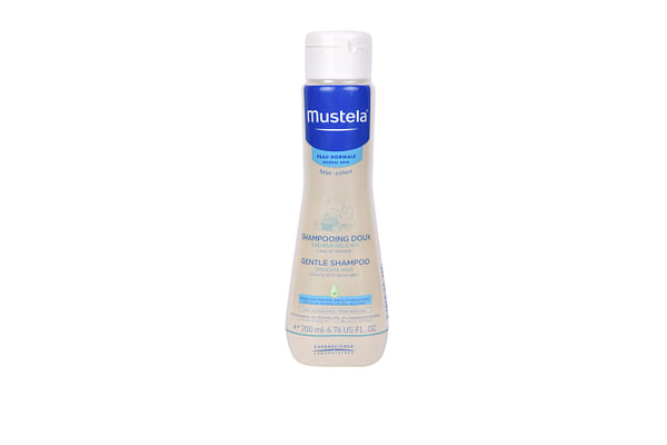 Mustela Gentle Shampoo 200ml White