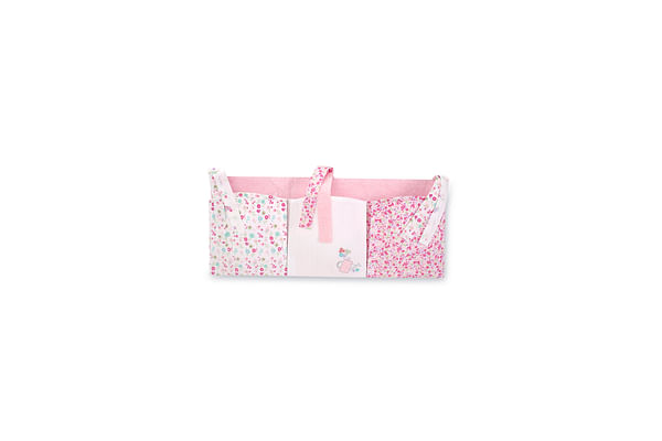 Mothercare My Little Garden Cot Pockets Pink