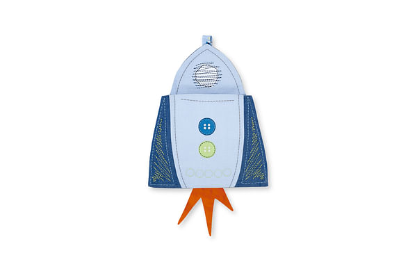 Mothercare Space Dreamer Cot Pocket Blue