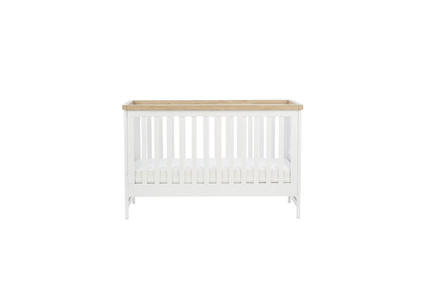 mothercare lulworth cot bed - classic white