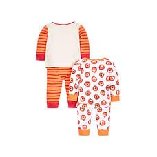 Boys Little Lion Pyjamas - Pack Of 2