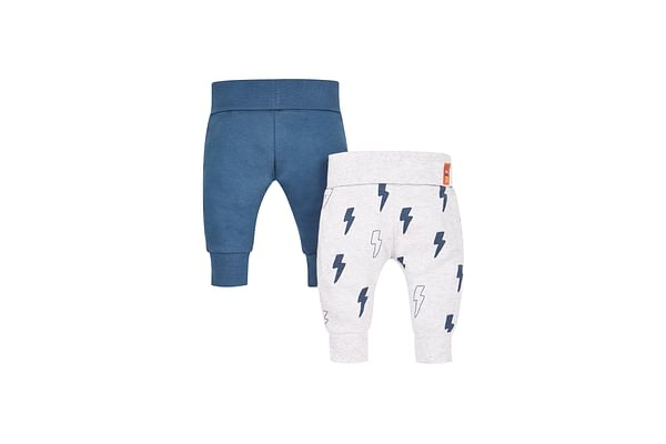 Boys Lightening And Blue Joggers - Pack Of 2