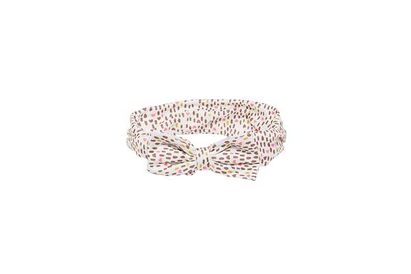 Girls Leopard Bow Headband