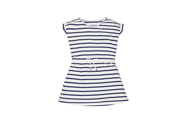 Girls Striped Jersey Dress