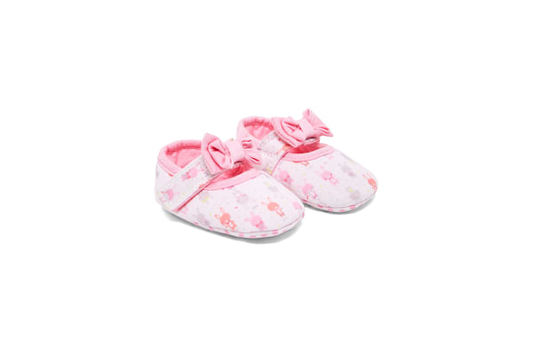 Girls Bunny Mary Jane Shoes - Pink