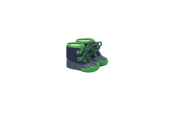Boys Cord Lace Boots - Multicolor