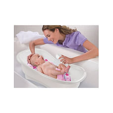 Summer Infant Newborn To Toddler Bath Center & Shower -Pink