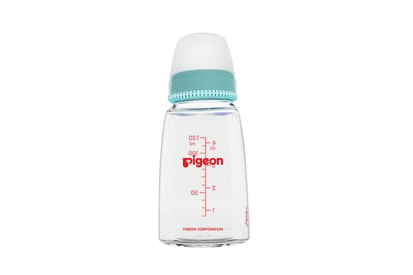 Pigeon Glass With Nipple Feeding Bottle 120ml