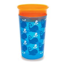 Munchkin 9Oz Miracle 360° Decorated Sippy Cup™ -  Blue Orange