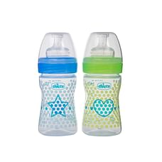 Chicco Start Heart Baby Feeding Bottles 150ml