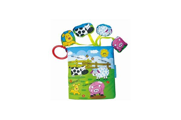 Biba Toys My Farm Animals Soft Book With Sounds