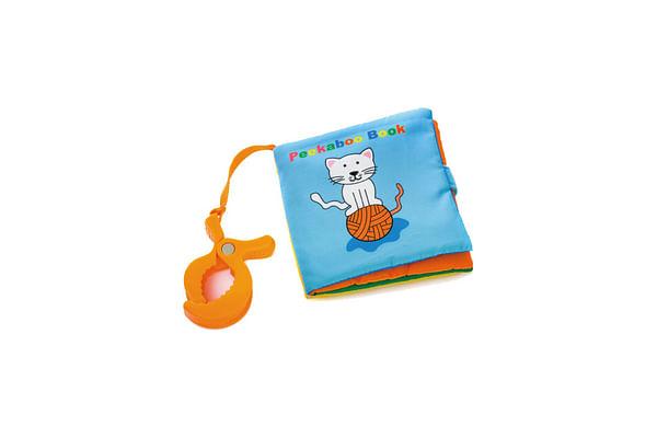 Biba Toys Peek-A-Boo Travel Soft Book