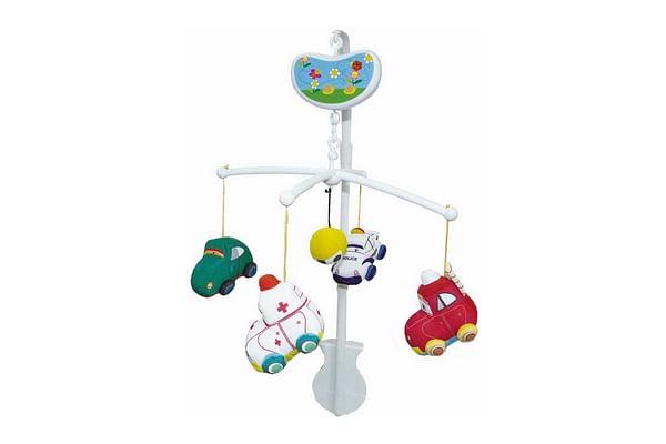 Biba Toys Happy Cars Musical Mobile