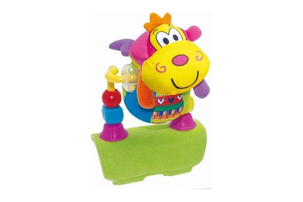 Biba Toys Rolling Ball Monkey Stroller Toy